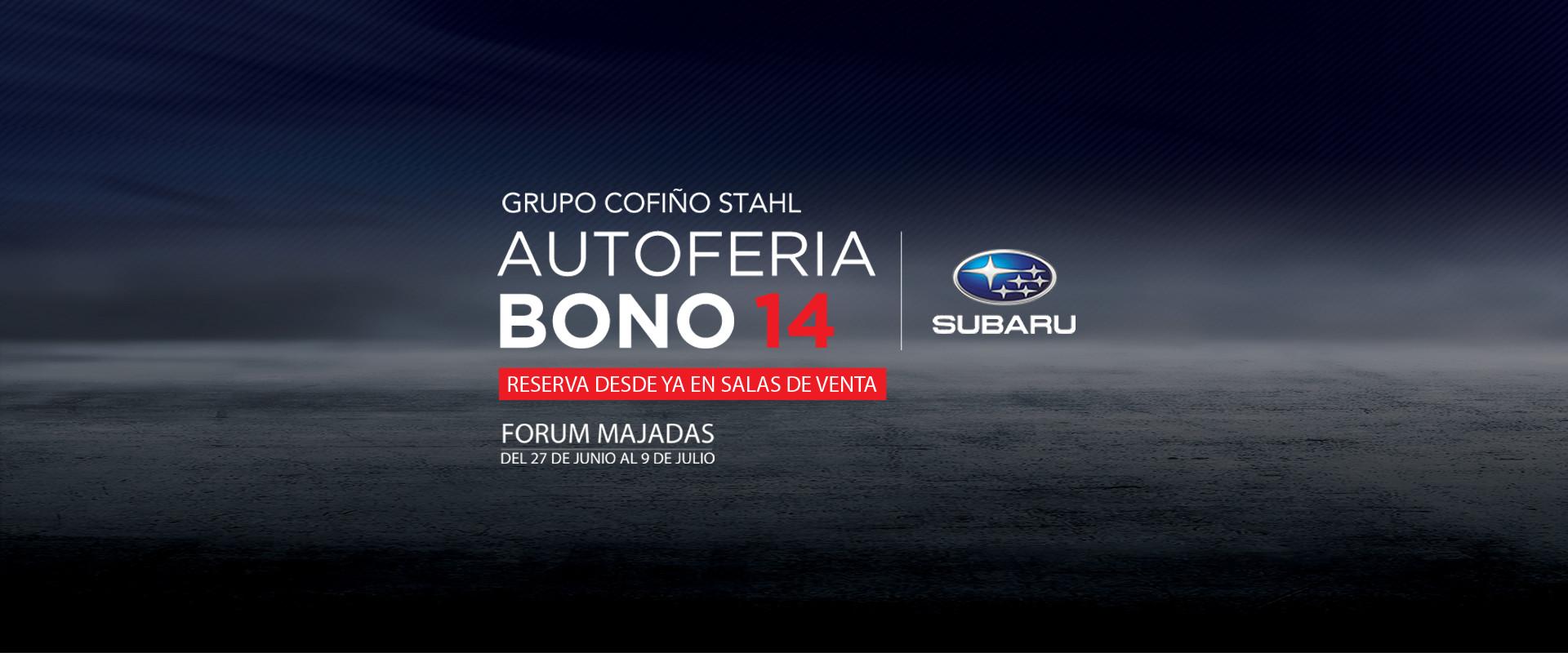 Grupo Cofiño Stahl | Autoferia Bono 14 | Subaru